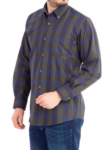 Kareli Uzun Kollu Gömlek-Kiğılı